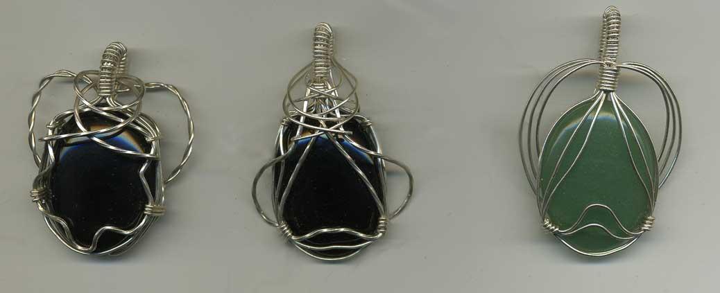 Wire wrap gemstones